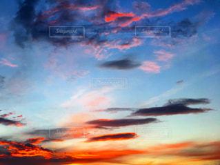 夕焼けの写真・画像素材[2472696]