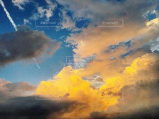 夕焼け空の写真・画像素材[2477622]