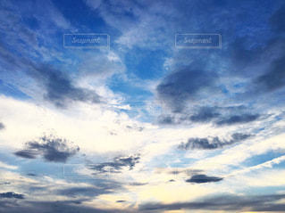 空の雲の群の写真・画像素材[3590164]