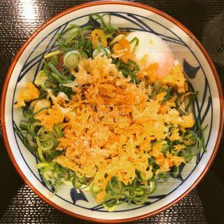 丸亀製麺の肉ぶっかけうどんの写真・画像素材[3632719]