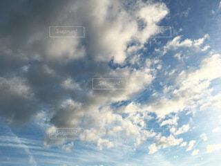 青空と雲の写真・画像素材[3828836]