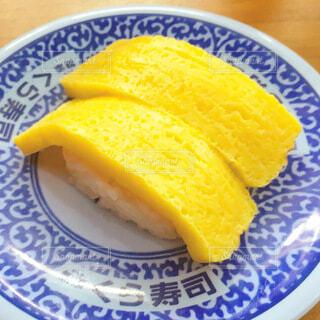 くら寿司の玉子の写真・画像素材[4036520]