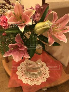 可愛いく生け花の写真・画像素材[1446279]