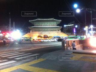 韓国 東大門の写真・画像素材[1427729]