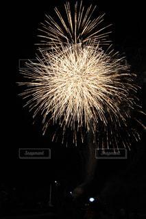 夜空の花火の写真・画像素材[1445437]