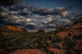 峡谷の雲の写真・画像素材[1506949]