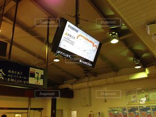 駅の案内板の写真・画像素材[1431038]