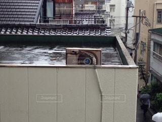 エアコンの室外機の写真・画像素材[1441453]