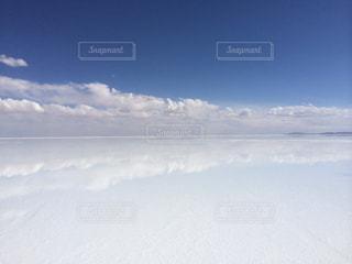 ウユニ塩湖の写真・画像素材[1428655]