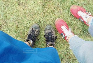 フェスで遊んだ足元。の写真・画像素材[2030298]