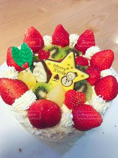 クリスマスケーキの写真・画像素材[1431441]
