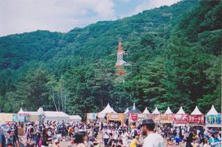フジロック開催中の風景の写真・画像素材[1430308]