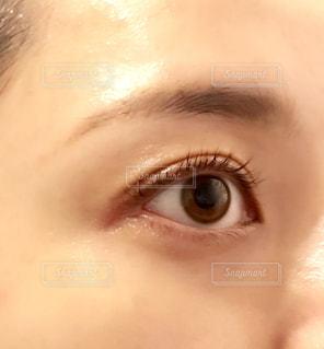 目のアップの写真・画像素材[1607358]