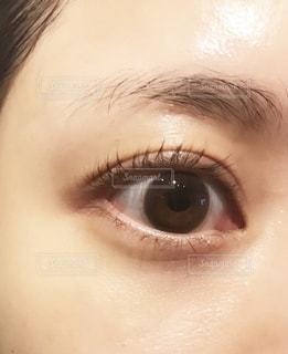 目のアップの写真・画像素材[1666145]