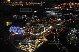 横浜ロイヤルパークホテルならではの景色の写真・画像素材[1431912]