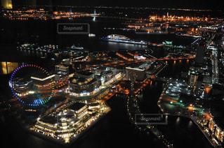 横浜ロイヤルパークホテルならではの景色の写真・画像素材[1431913]
