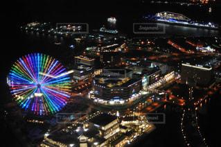 横浜ロイヤルパークホテルならではの景色の写真・画像素材[1431915]