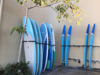 ハワイのサーフボードです。の写真・画像素材[1432820]