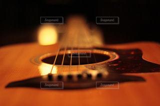 ギターのアップの写真・画像素材[1435326]