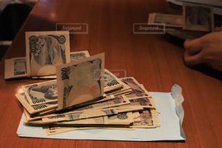 紙幣の計算の写真・画像素材[1829924]