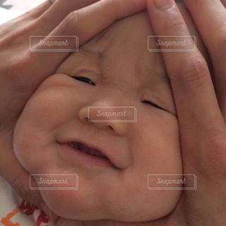 赤ちゃんおにぎりの写真・画像素材[1433011]