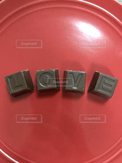 アルファベットチョコレートの写真・画像素材[1439413]
