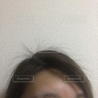 産後のアホ毛の写真・画像素材[1439451]