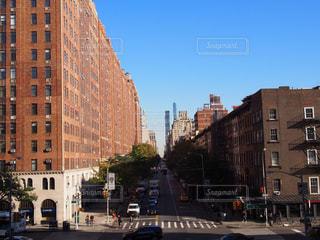 ニューヨーク街並の写真・画像素材[1433875]