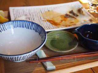 食べ終わったお皿の写真・画像素材[1706885]