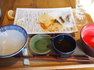 食べ終わったお皿の写真・画像素材[1706886]