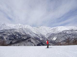 山々を背にの写真・画像素材[1442718]