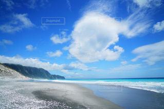 新島の海の写真・画像素材[1434297]