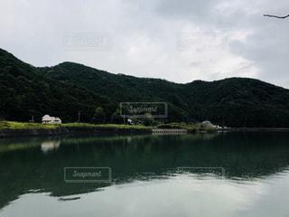 湖畔の風景の写真・画像素材[1450052]