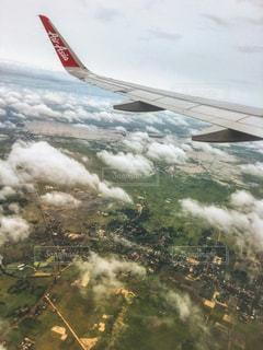 空からのカンボジアの写真・画像素材[1456213]