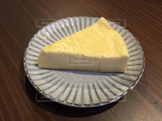 手作りチーズケーキの写真・画像素材[1502594]