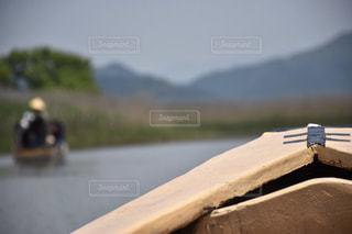 船から景色の写真・画像素材[1502618]