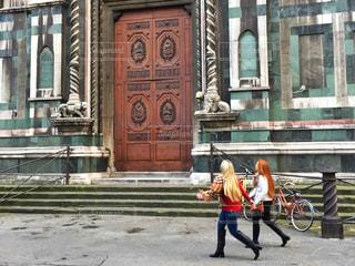 イタリアの街並みの写真・画像素材[1832580]