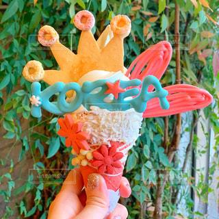 映えるアイスクリームの写真・画像素材[1845442]
