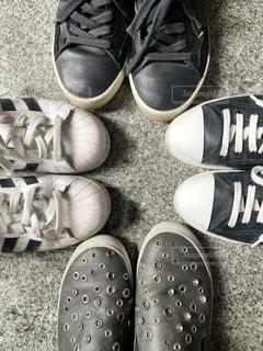 靴のグループの写真・画像素材[1864201]