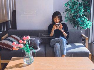 女性の写真・画像素材[2011877]
