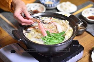 冬は鍋に限りますの写真・画像素材[4070694]