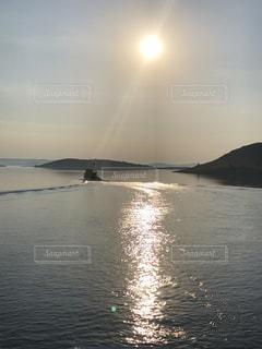 クロアチア フェリー  ザダル フェリー プルコ ウグリャン島  海 漁 イワシ 鰯の写真・画像素材[1438726]