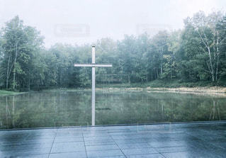 水の教会の写真・画像素材[1836216]