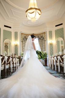 結婚式にての写真・画像素材[1836316]