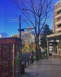 街の通りの写真・画像素材[1437180]