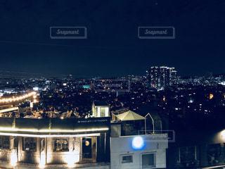 ルーフトップカフェ in ソウルの写真・画像素材[1534489]