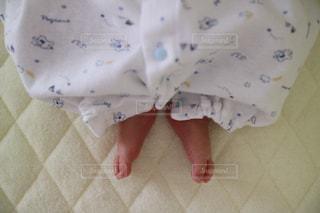 赤ちゃんの足の写真・画像素材[1437332]