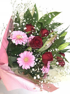 お祝いの花束の写真・画像素材[1438891]