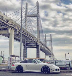 横浜ベイブリッジの写真・画像素材[1438645]