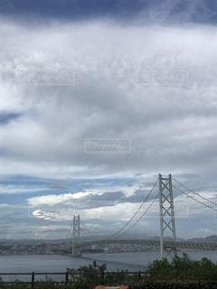 大きい吊り橋の写真・画像素材[1449376]